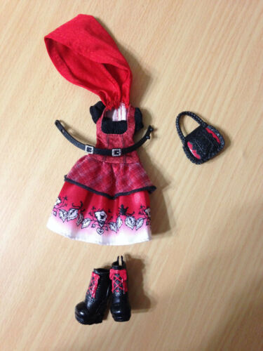 Ever After High HatTastic Party Cerise Hood Doll's Outfit Clothes Shoes Lot
