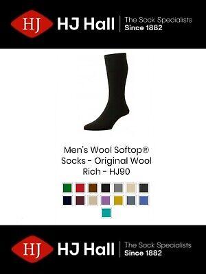 Offizielle Website Mens Hj Hall Softop® Hj90 The Original Wool Rich Non-elastic Socks Uk 4-15
