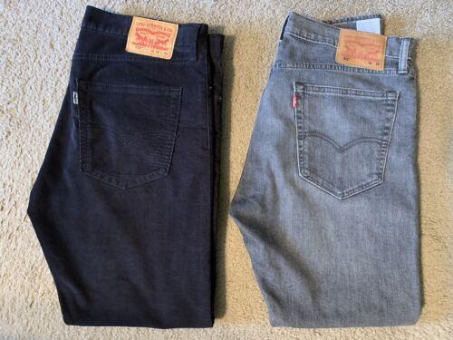 Levis 512 Slim Taper Jeans 36x30