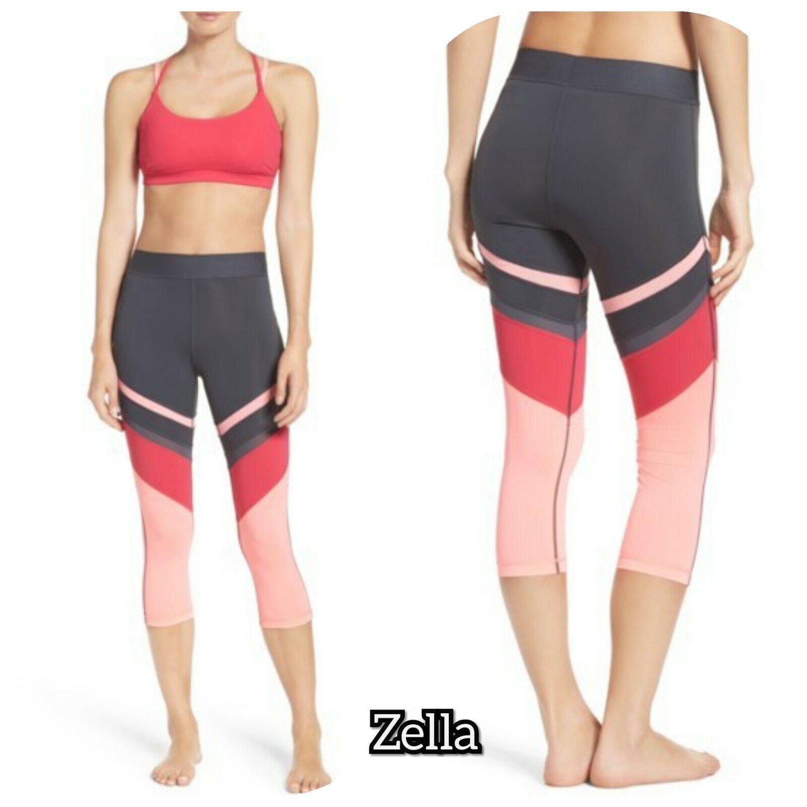NWT Zella So Hot Crop Leggings Size M