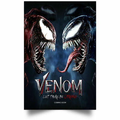 Venom 2 Let There Be Carnage 2021 Movie Poster Art Print ...