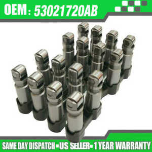 Details about Dodge Ram HEMI 5 7 5 7L 6 1 6 1L Roller Valve Lifter Set of  16 (NON-MDS Lifter)