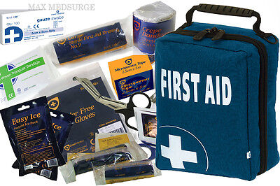SPORTS FIRST AID KIT - 150pcs High Quality Contents - Bike, Camping, Travel
