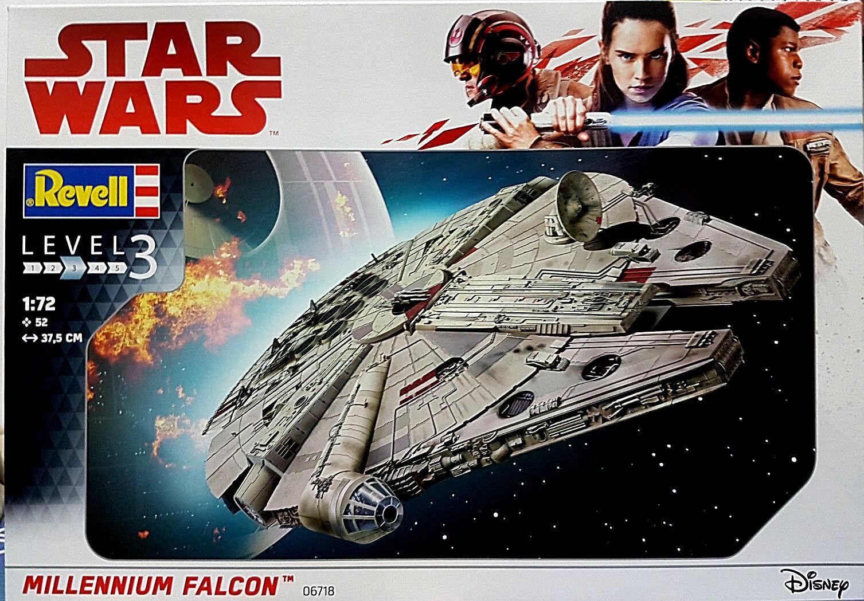 Star Wars Millenium Falcon Guerre Stellari - Revell Kit 1 72 - 06718 Ian Solo