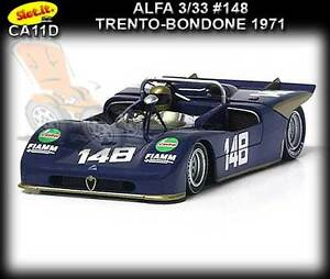 Slot-it-CA11D-Alfa-Romeo-33-3-1971-suits-Scalextric-amp-Carrera-slot-car-track