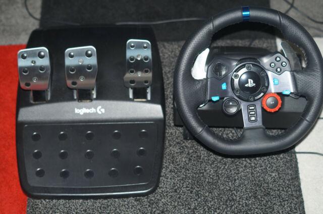 Logitech G29 Driving Force  Lenkrad und Pedale ohne OVP Pedal anschluss Def