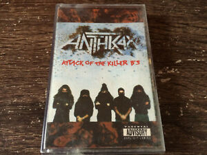 ANTHRAX - Attack Of The Killer B's CASSETTE / Thrash Metal /Made In Philippines