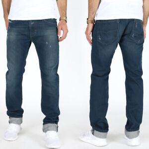 Diesel-Hommes-Slim-Fit-Jeans-Pantalon-Thavar-0r21q-100-Coton-w30-w33