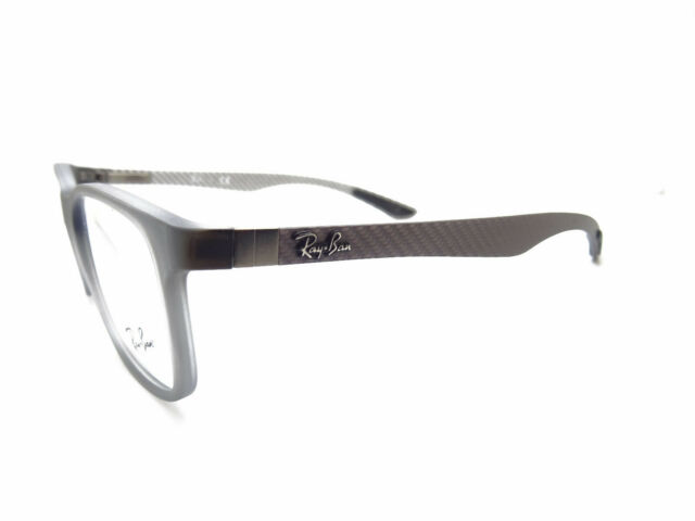 e4bd42c7b9 Eyeglasses Ray Ban Rx8903 5244 Matte Trasparent Grey 53-18 for sale ...