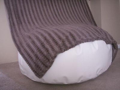 Travel Size Newborn Posing Bean Bag - Infant Poser Pillow -Photo Prop White