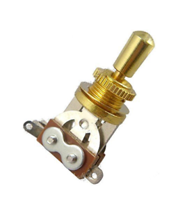 New-SWITCH-3-pos-Toggle-commutateur-gold-tip-metal-gold-guitare-LP-SG