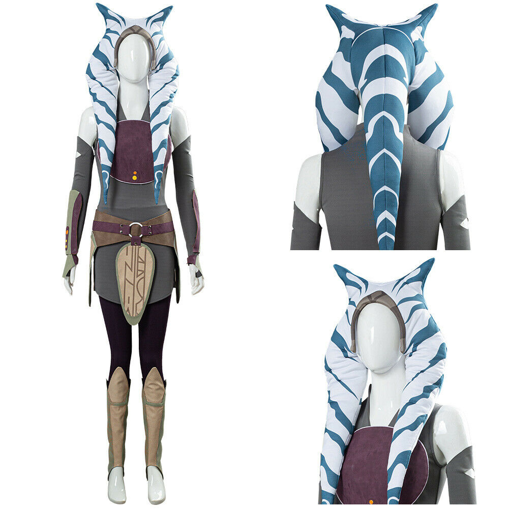 Star Wars Rebels Ahsoka Tano Cosplay Costume Dress ...