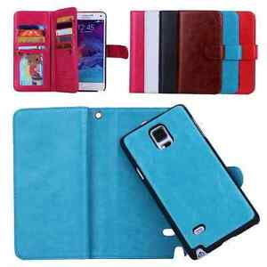 samsung galaxy s5 wallet cases. image is loading removable-magnetic-pu-leather-flip-wallet-case-cover- samsung galaxy s5 wallet cases