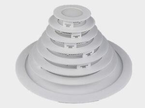 Ultraslim-tondo-LED-pannello-Faretto-da-incasso-Plafoniera-Installazione