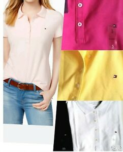 TOMMY-HILFIGER-womens-Polo-shirt-CLASSIC-Fit