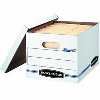 Bankers Box Stor/file Basic-duty Storage Boxes With Lift-off Lid, Letter/legal, on sale