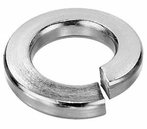 Spring Washers M4 M5 M6 M8 M10 M12 Stainless Steel A2 pack x 10