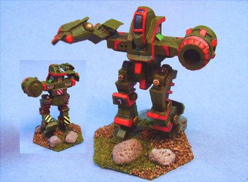 Battletech Pintado koschei battlemech Rg