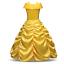Children-Girls-Beauty-and-the-Beast-kids-Princess-Belle-Dress-UP-Set-B1 thumbnail 3