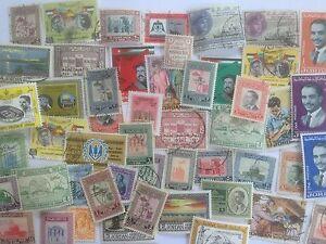 100 Different Jordan Stamp Collection
