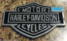 2 HARLEY DAVIDSON TAILGATE BAR AND SHIELD BADGE EMBLEM Nameplate Logo