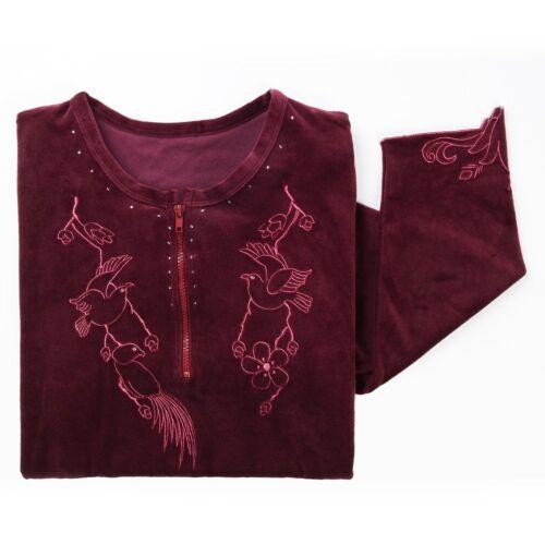 Betterware Embroidered Velveteen Kaftan L XL