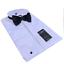 Herren-Wing-Kragen-100-Baumwolle-Schweizer-Plissee-weiss-Kleid-Shirt-Fliege-Grosse-Groessen Indexbild 1