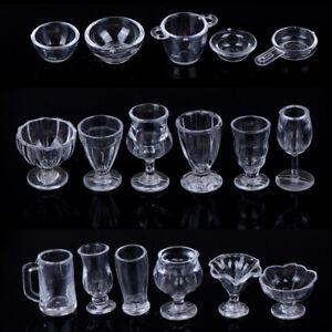 17Pcs-Set-1-12-Dollhouse-Miniature-Transparent-Tableware-DIY-Kitchenware-Toys-JC