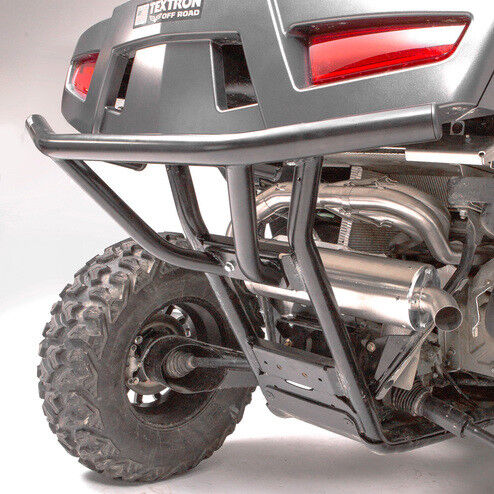 HMF Racing Defender Steel Rear Bumper Guard Black Textron Wildcat XX 2018+