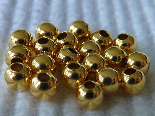 4mm Silberperlen Silberkugeln 925 Sterlingsilber 20 Stück Farbwahl 2866