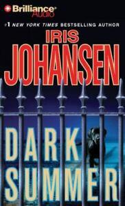 Dark Summer by Iris Johansen (Audio CD, Abridged) NEW