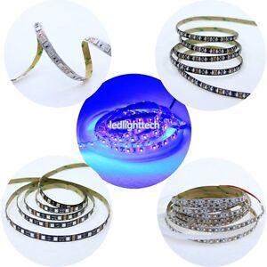 5M-UV-Ultraviolet-395nm-5050-3528-SMD-Purple-300-600-LED-Flex-Strip-Light-12V