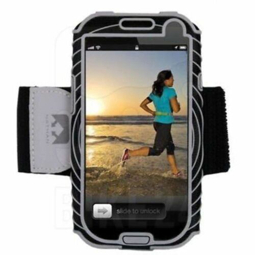 Nathan SonicBoom for Samsung Galaxy S3 Running Arm Band Black//Grey NEW