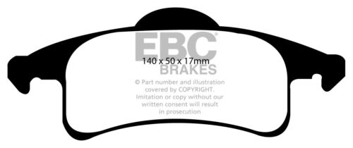 NEW EBC ULTIMAX FRONT AND REAR BRAKE PADS KIT BRAKING PADS OE QUALITY PADKIT489