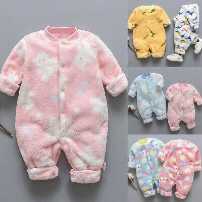 Newborn Infant Baby Girls Boys Cartoon Romper Jumpsuit Outfits Playsuit JIMSHOP