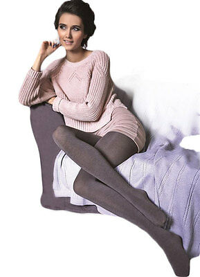 Gatta Tights Matt Look Woman Satin Opaques Pantyhose Black Warm 50 Den