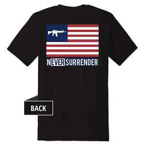 Never-Surrender-AR15-Flag-T-Shirts-100-MADE-IN-THE-USA