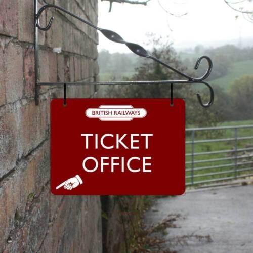 Personalised Hanging Railway sign Train Station Home Bar Totem Platform  Sign