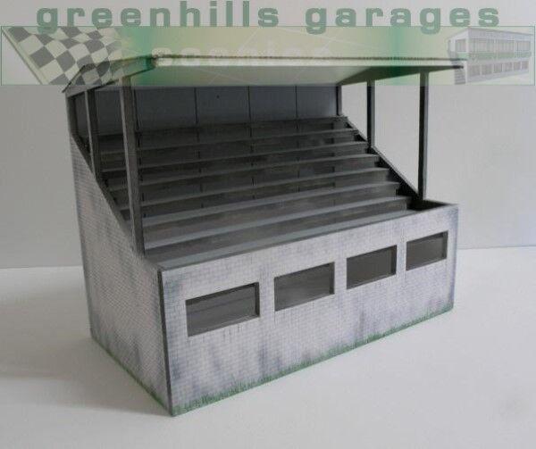 verthills Scalextric Slot Car Building Weatherouge Reims Grandstand Model 1 32...