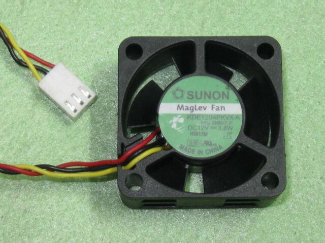 SUNON Maglev KDE1204PKV2 4020 40mm x 40mmx 20mm Cooler Cooling Fan 12V 0.8W 3Pin
