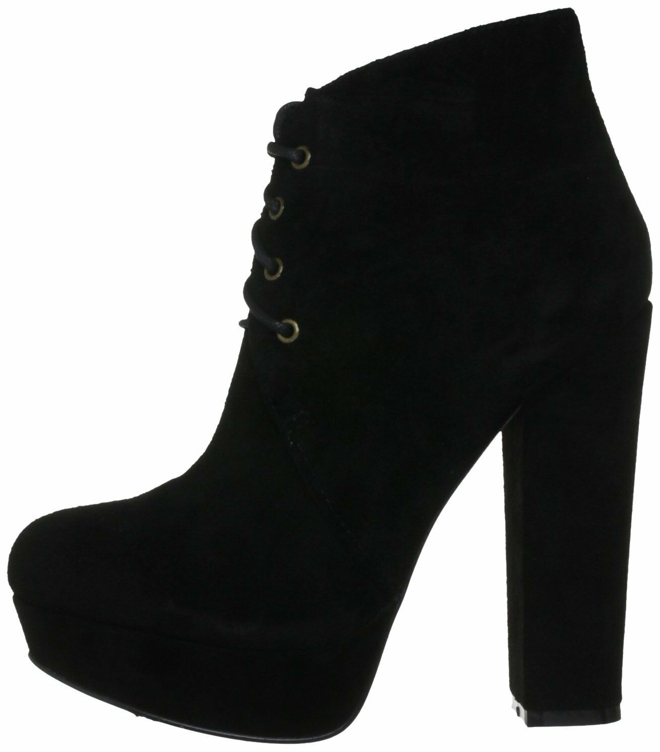 RP RAVEL SIZE SIZE RAVEL 4 / 7 BLACK KELLY REAL SUEDE LEATHER PLATFORM ANKLE Stiefel Schuhe a77c00