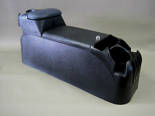 Black Center Console with Blue Tip Up Upholstered Armpad Crown Victoria P71