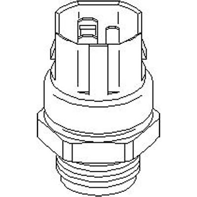 für VW Seat Skoda TopranTemperaturschalter Kühlerlüfter 3-polig 103 139