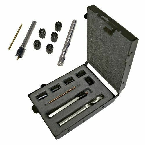 """Malco SW1 Spot Weld Cutter Kit with 3//8/"""" Double End Cutter 5//16/"""""""