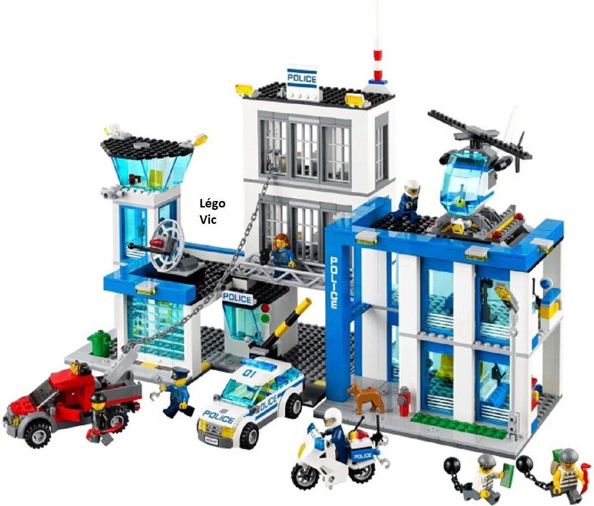 Lego 60047 City Commissariat de Police Station complet de 2014 -CG13