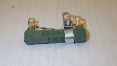 CLAROSTAT VP-10FA 200 OHMS WIREWOUND RESISTOR NIB
