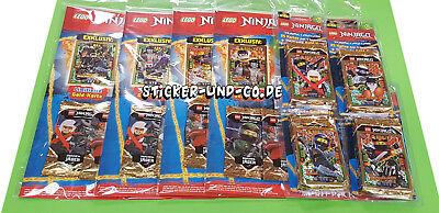 Todos los 4 lego Ninjago multi pack Trading Card Game serie 4 con le17-le20 2019