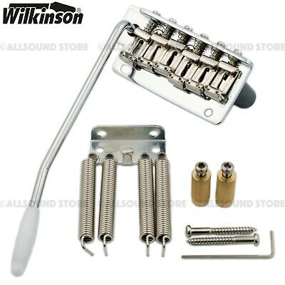 Chrome WV2-SB-CR *NEW Wilkinson 2 Point TREMOLO for Fender Stratocaster Steel