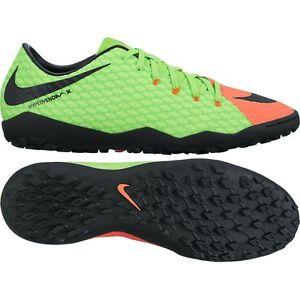 79f6307c8 Nike Hypervenom Phelon III TF Turf 2017 Nike Skin Soccer Shoes Green ...