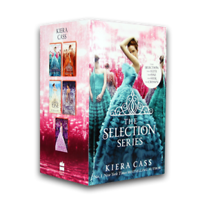 The-Selection-Series-5-Books-Box-Set-Collection-The-Selection-The-Elite-The-One
